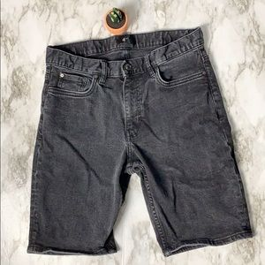 Men's H&M Jean Shorts Black Size 30